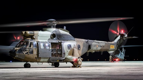 Superpuma del Bón. de Helicópteros de Maniobra VI