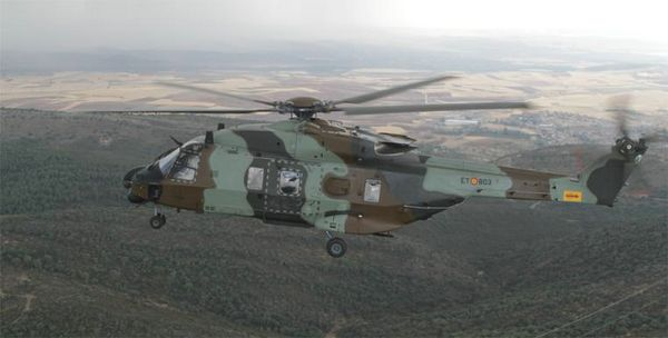 Vuelo del HT-29 rumbo a la base de Agoncillo