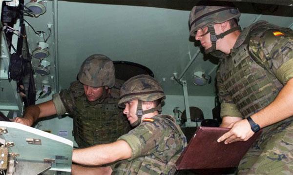 Alumnos en una de las prácticas