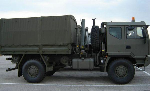 Uno de los nuevos camiones recibidos