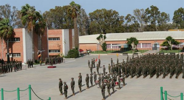 Acto de constitución del Batallón de Alumnos