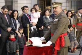 Jura del nuevo cargo en el  Cuartel General del ET (Foto: MINISDEF)