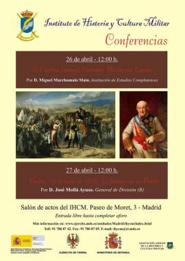 Cartel promocional de las conferencias