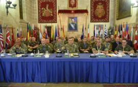 Land Forces' Chiefs of NATO, in Valencia
