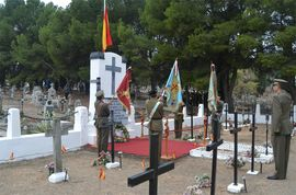 "Tribute at ""Torrero"" cemetery (Zaragoza)"