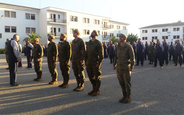 A team of instructors from the 47th Regiment 'Palma' departs to Mauritania