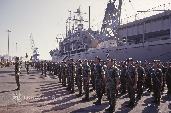 25th anniversary of the first Spanish Army's deployment in Bosnia-Herzegovina