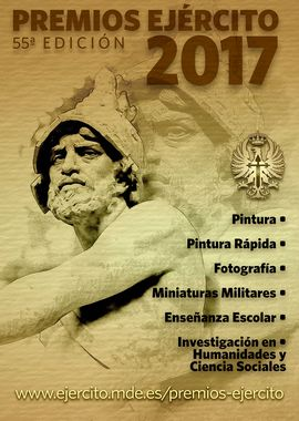 The Spanish Army presents the prizes in the 55th edition of its Awards