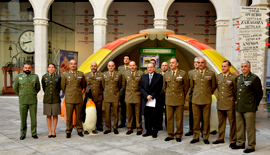 The University of Valladolid took in the presentation of the Spanish Army's contribution to the Antarctic Spanish Campaing 2017-2018