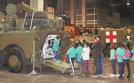 Army's participation at Expo Jove, in Valencia