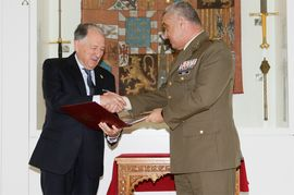 The JEME receives Ferdinand II's letters to the Great Captain after being decoded by the National Intelligence Centre (CNI in Spanish)
