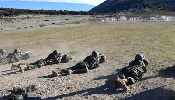 Future soldiers belonging to the 2nd cycle of 2017 are instructed in 'Las Navetas'