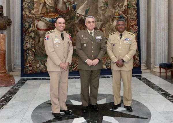 The JEME welcomes a Conference of American Armies' delegation