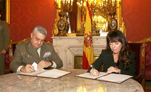 The Ministry of Defence and The Legacy band together to promote the Spanish Defence Culture in the U.S.
