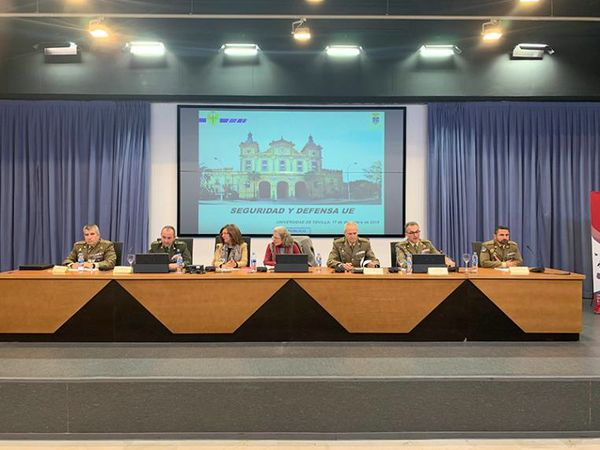 The University of Seville and the General Castaños Chair organise a seminar about European Security and Defence Politics.