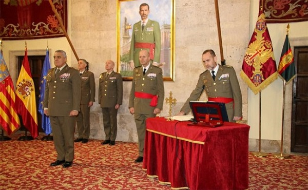 Induction into office of the new chief of the High Readiness Force Land Headquarters