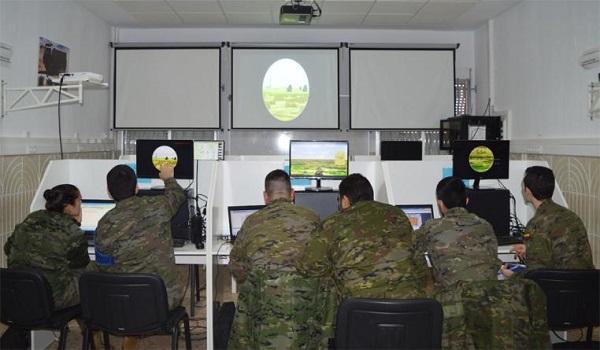 """Práctica en el simulador virtual """"Aizcarel"""""""