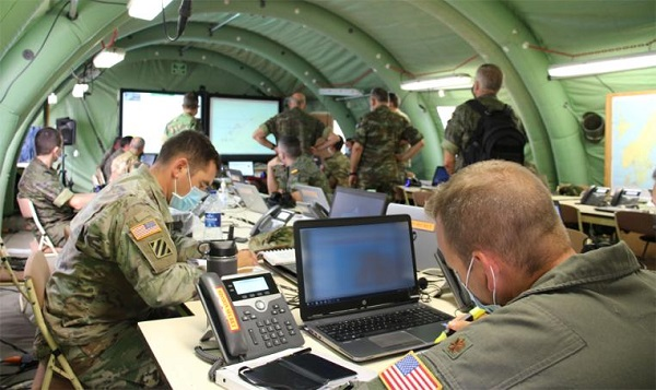 The NATO Headquarters in Bétera conducts the 'Deployex' II/20 exercise