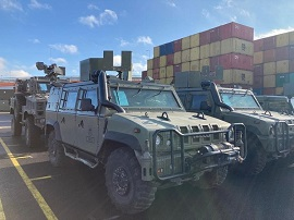 "The Operational Logistics Force monitors the ""Brilliant Jump"" exercise in Lithuania"