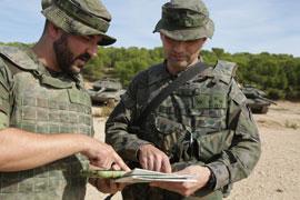 El Grupo y el Batallón comparten actividades de formación relacionadas con el Leopardo
