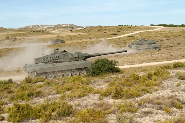 Carros Leopardo de la unidad