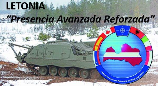 Latvia: 'ADVANCED AND REINFORCED PRESENCE'