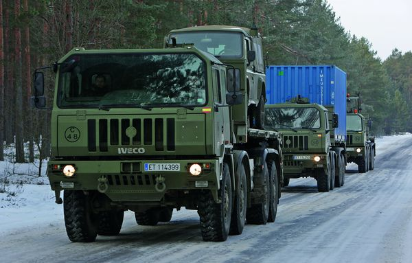 Logistic vehicles in Latvia