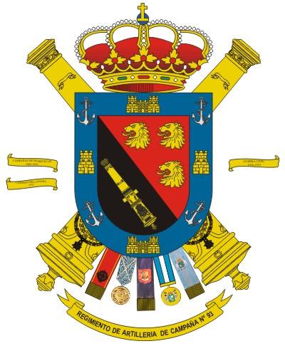 Resultado de imagen de escudo de artilleria canarias