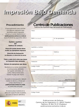 Procedure to request copies: Print on demand