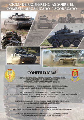 Cartel Conferencias.