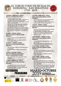 Cartel programa conferencias 2019