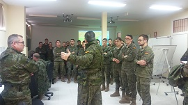 Ejercicio CPX (Post Command Exercise) DARDO 01/19 (Foto:ACART)