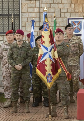 LTG García-Vaquero during the ceremony