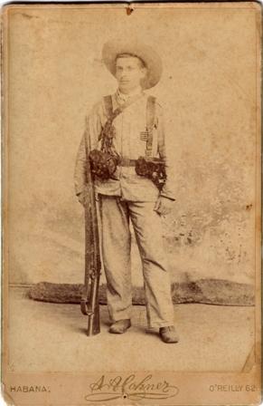 Soldado Guerra Cuba 1896