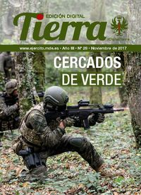 Cover page Tierra digital edition nº 28 November 2017