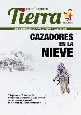 'Tierra': digital edition frontpage