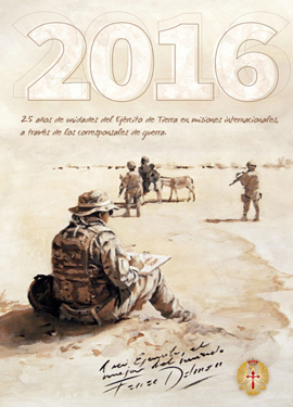 Calendarios del Ejército (disponible calendario 2016)