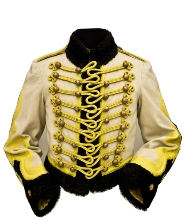 Fur-lined coat of commander of the Princess' Hussars